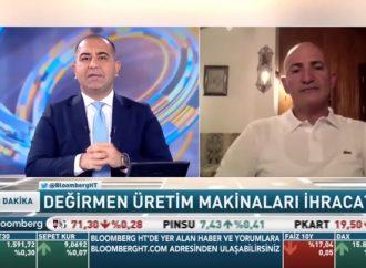"""DESMÜD Başkanı Sayın Zeki Demirtaşoğlu Bloomberg HT'de Barış Esen'in sunduğu ve canlı olarak yayınlanan """"60 Dakika"""" adlı programa konuk oldu."""